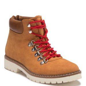 Steve Madden Cognac Ankle Boot NEW